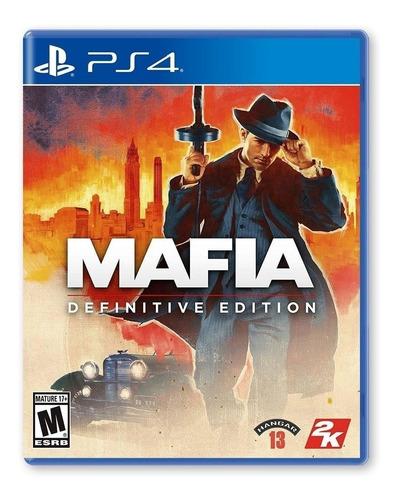 Mafia: Definitive Edition 2k Ps4  Físico