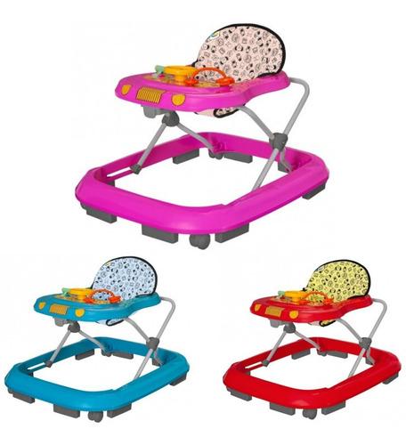 Andador Para Bebê Menina E Menino Tutti Baby Toy Até 15 Kg