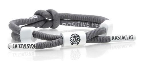 Pulseira Rastaclat Positive Vibes Grey