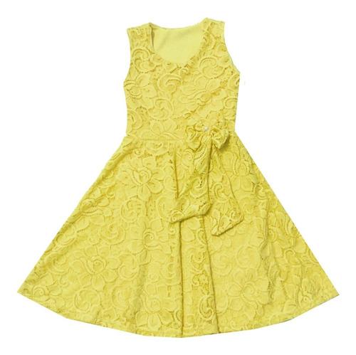 Vestido Infantil De Renda Moda Kids Atacado Promoção