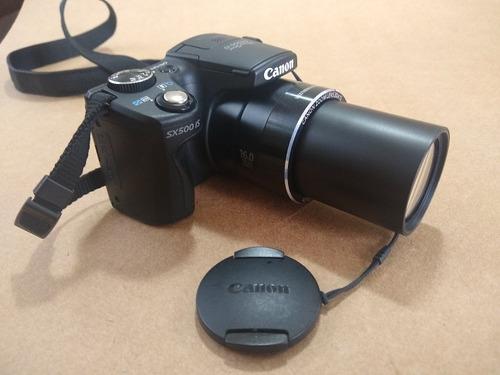 Camera Semi Profissional Canon Sx500is Zoom 120x 16mp