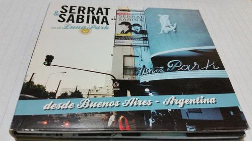 Serrat Sabina En El Luna Park Cd+dvd Nacional
