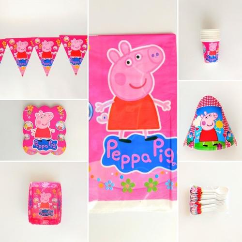 Kit Peppa Pig Fiesta Infantil
