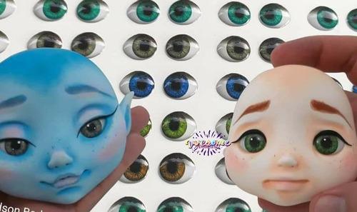 Ojos Para Manualidades Ojitos 3d Autoadhesivos
