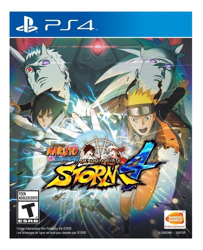 Naruto Shippuden: Ultimate Ninja Storm 4 Standard Edition Digital Ps4 Bandai Namco Entertainment