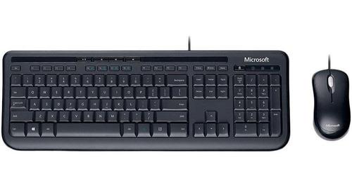 Teclado E Mouse Microsoft Wired Desktop 600 Usb Abnt2 + Nfe