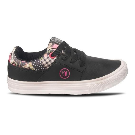 Zapatillas Prowess 1163 Skate Niña Nena Eco Cuero 27-34