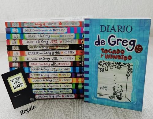 16 Diario De Greg Colección Completa + Regalo + Envio Gratis