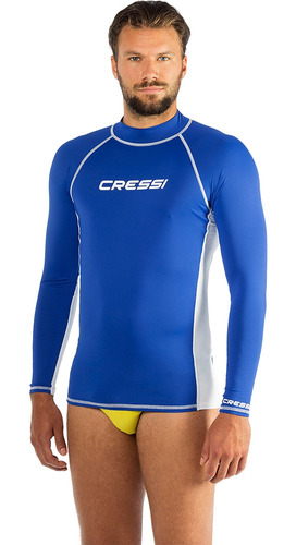 Camiseta De Proteção Uv50 Cressi Rash Ls