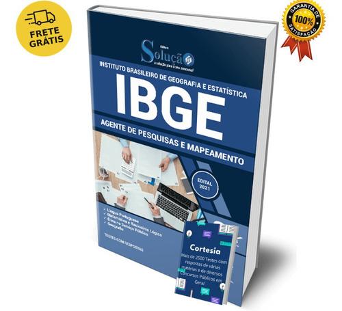 Apostila Concurso Ibge Agente De Pesquisas E Mapeamento