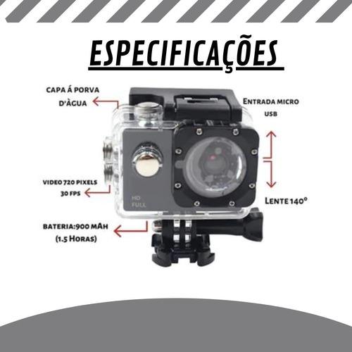 Câmera Filmadora Full Hd Tomate A Prova D'água Mt1081 Oferta