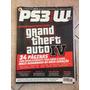Revista Ps3w 8 Grand Theft Auto 4 Com Pôster I271