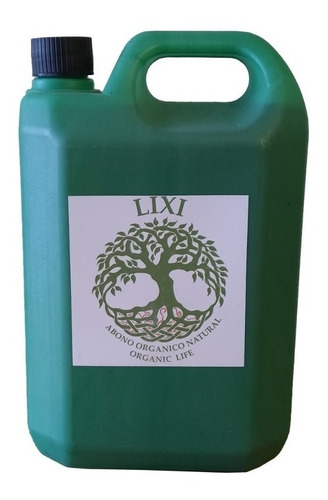 Lixi 5 Lts Abono Organico Natural Lombrices Cultivo Grow