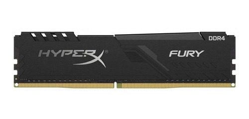 Memoria Ram Fury Ddr4 Gamer Color Negro  8gb 1 Hyperx Hx424c15fb3/8