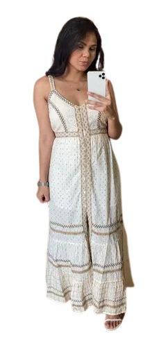 Vestido Feminino Longo Indiano Chic Reveillon