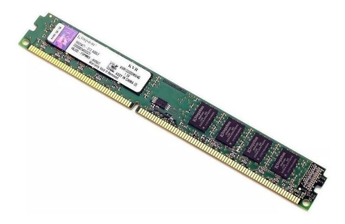 Memória Ram Valueram Color Verde  4gb 1x4gb Kingston Kvr1333d3n9/4g
