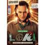 Revista Superpôster Super heróis O Deus Da Trapaça Loki