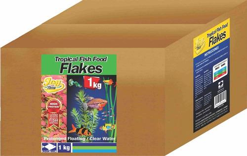 Alimento En Hojuelas Para Peces Tropicales Flakes 1 Kg