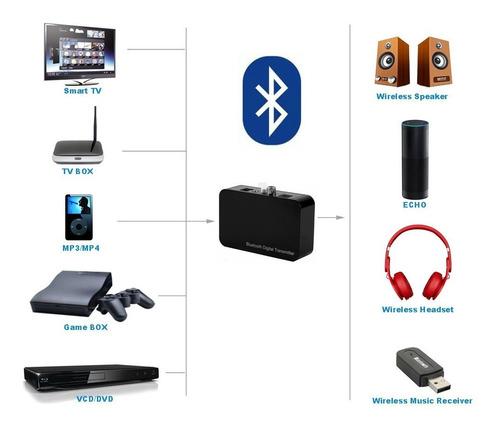 Aptx Digital Coaxial Ótico Transmissor Bluetooth Adaptador A