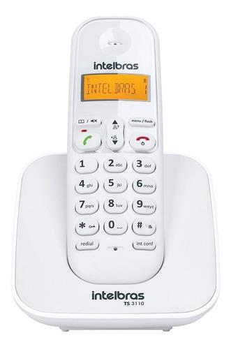 Teléfono Inalámbrico Intelbras Ts 3110 Blanco