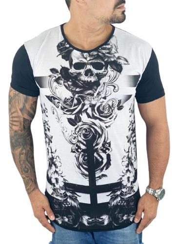 10 Camisas Masculina Long  Estampadas Escolha Atacado