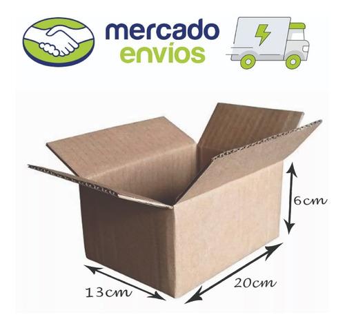 50 Caixa Papelão Correio Sedex Pac 20x13x06 Mercado Envios