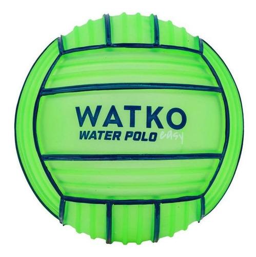 Bola De Polo Aquático Pequena Grip 100 Watko - Cor Verde