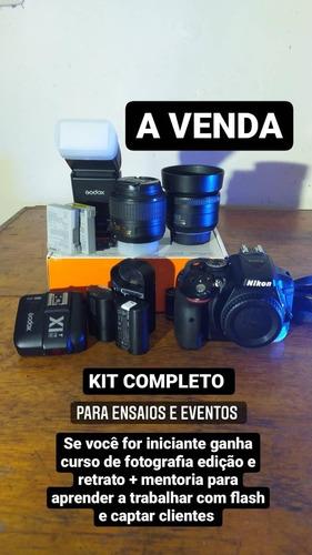 Nikon D5300 Acessórios E Curso De Edição