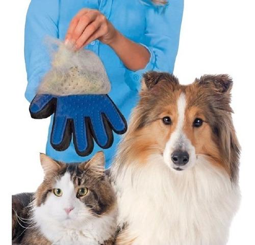 Luva Massageadora Tira Pêlos - Seu Cachorro E Gato Relaxados