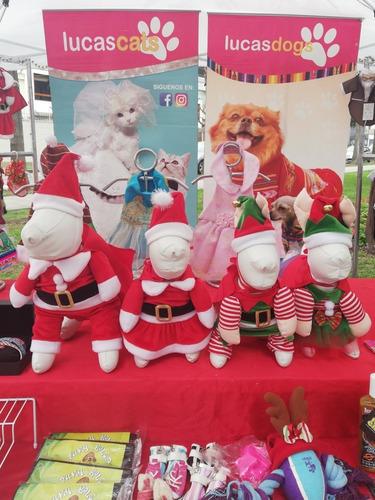Disfraz De Santa Claus Talla Xs Para Gato