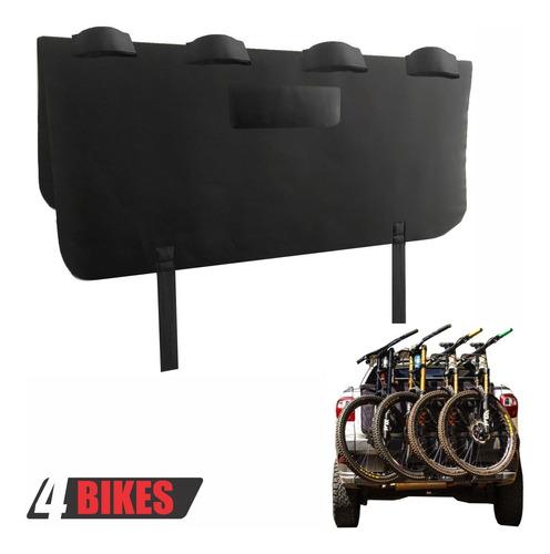 Transbike Fiat Toro Caminhonete Protetor Bike Truckpad