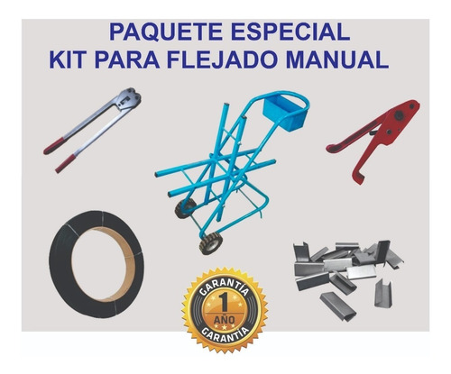 Paquete Kit Para Flejado Manual