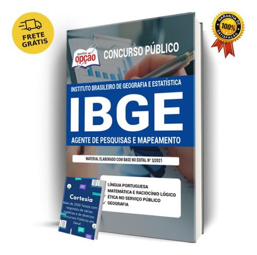 Apostila Agente De Pesquisas E Mapeamento Concurso Ibge