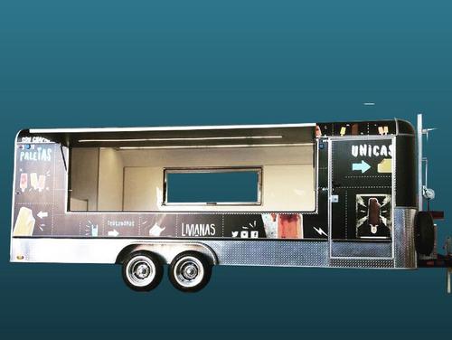 Alquiler Trailer Grande Alquiler Showroom/stand/gastro