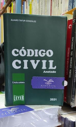 Código Civil Anotado,editorial Leyer,año 2020