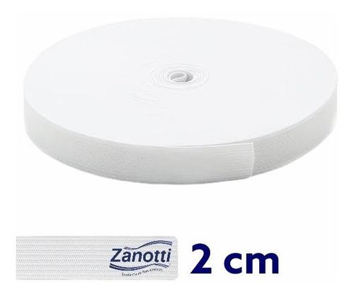 Elástico 20mm Branco Zanotti Jaraguá Rolo Com 25 Metros