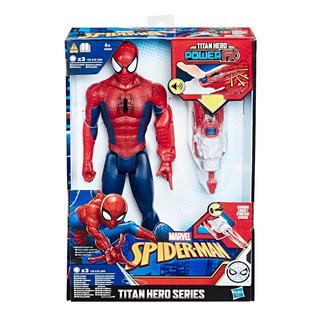 Muñeco Spider Man Hasbro E3552 Titan Hero Power 30 Cm