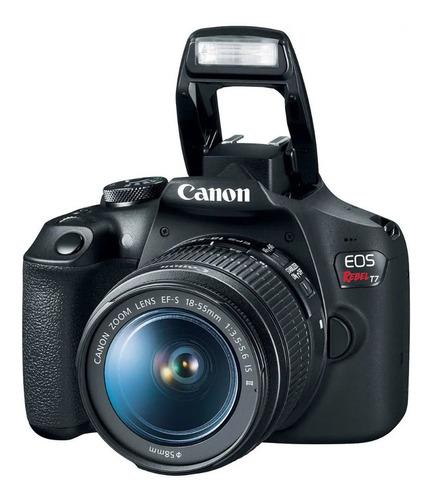 Câmera Canon Eos Rebel T7 Ef-s Lente 18-55 Iii-canon Brasil