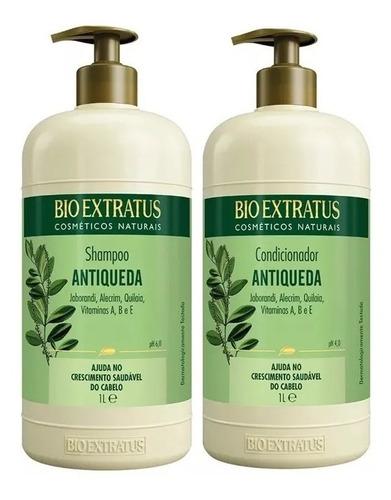 Bio Extratus Jaborandi Antiqueda Shampoo 1l Condicionador 1l