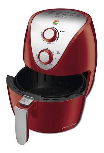 Fritadeira Elétrica Sem Óleo Mondial Family Iv Af-32-ri 3.5l Vermelha 220v