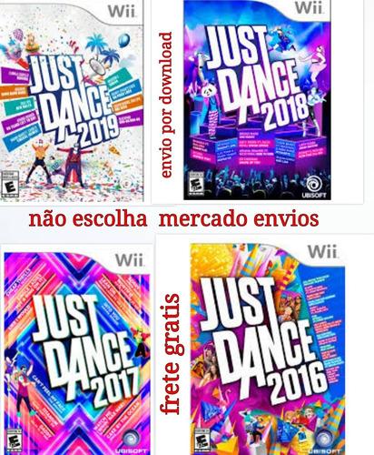 Pacote Just Dance Nintendo Wii Frete Grátis