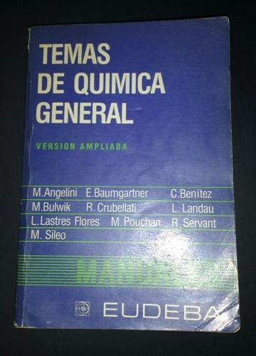 Libro Temas De Quimica General. Eudeba