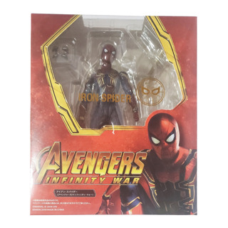 Sh Figuarts Spiderman Iron Man Avengers Infinity Wars 14cm