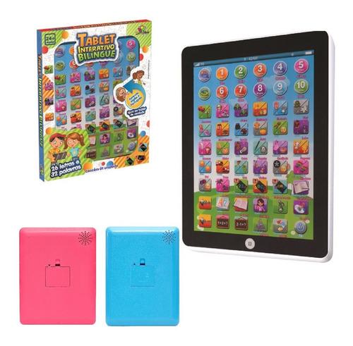Tablete Interativo Infantil De Crianças Bilingue Educativo