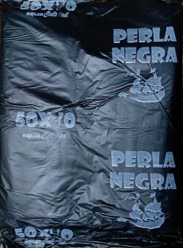 Bolsa Camiseta Reforzada Negra 50x70 Cm Descuento X Bulto !!