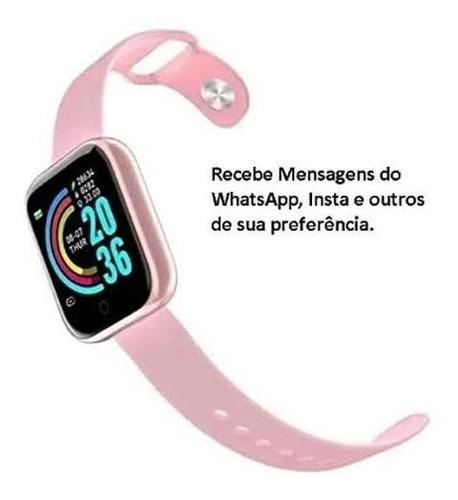 Relógio Smartwatch D20 Bluetooth Inteligente