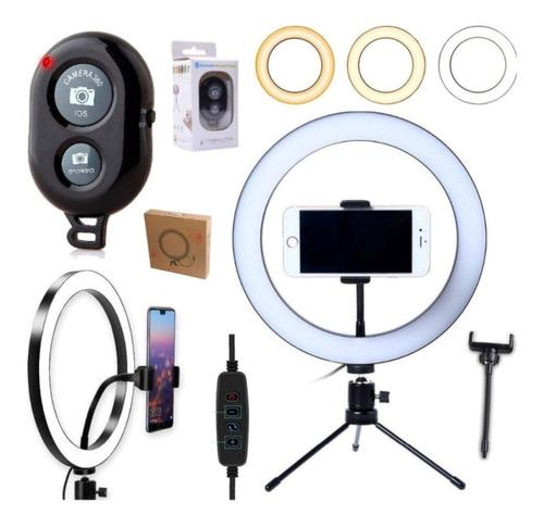 Ring Light Iluminador Anel Luz Led Selfie Makeup
