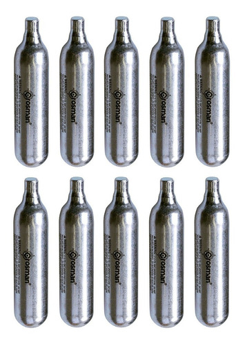 10 Garrafas Pistola De Co2 Promoción! Gran Aventura