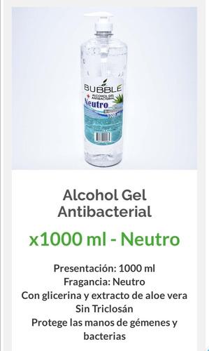 Alcohol Gel Antibacterial Bubble