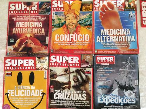 Revistas Super Interessante - Lote De 3 Revistas A Escolha